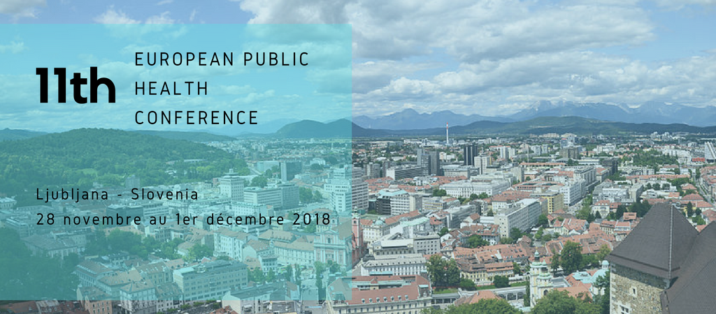11th European Public Health Conference – 2018