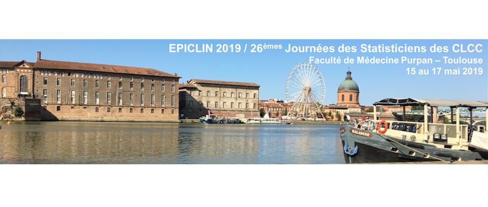 EPICLIN 2019 / 26èmes Journées des statisticiens des CLCC