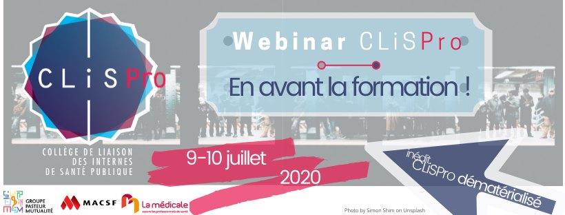 CLiSPro 2020 : En avant la formation !